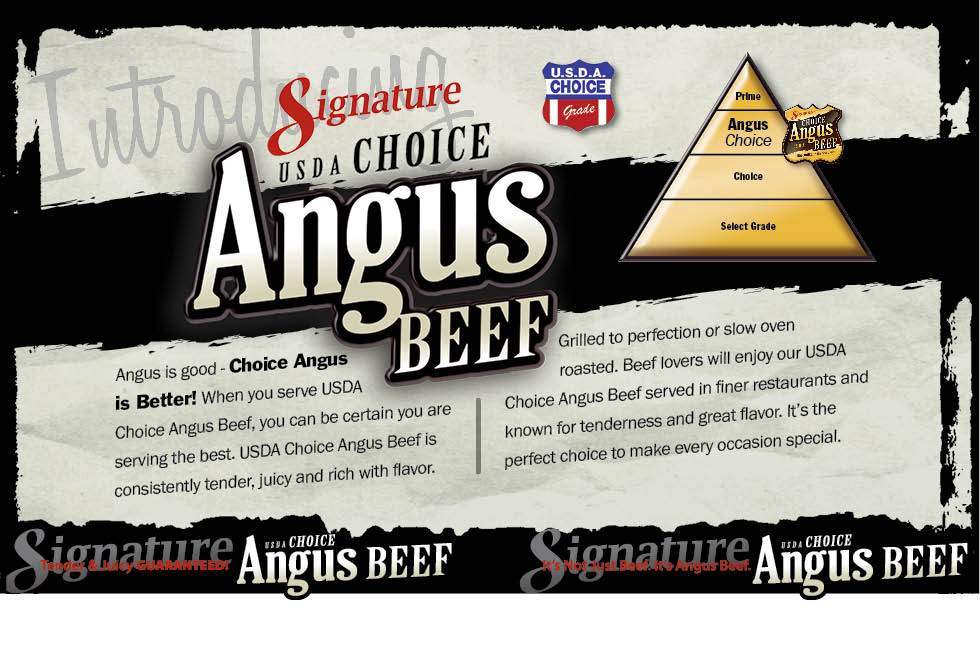 Signature Choice Angus Beef