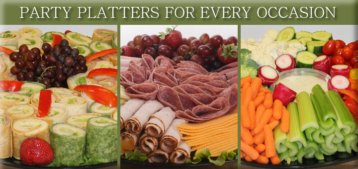 Click here to view our deli platters