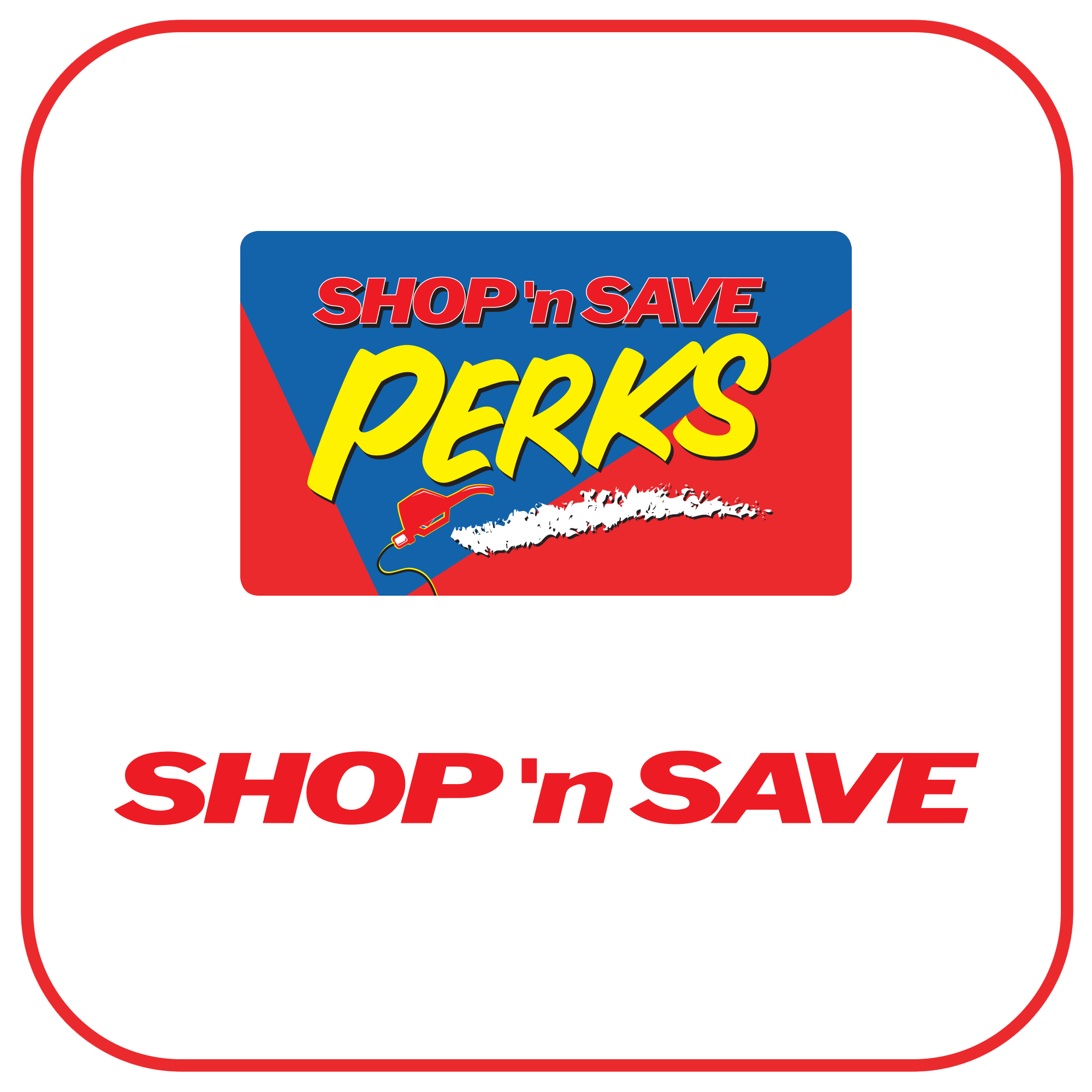 Shop 'n Save Mobile App Icon'