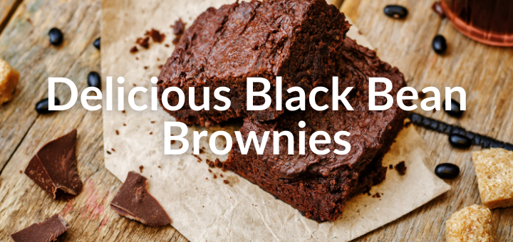 Picture of black bean brownies