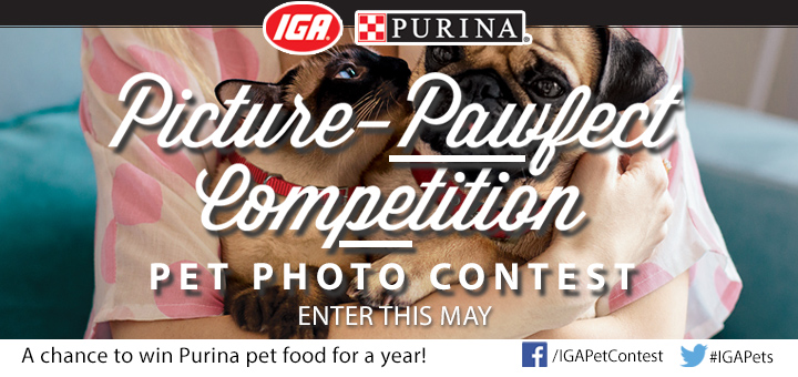 IGA Pet Photo Contest