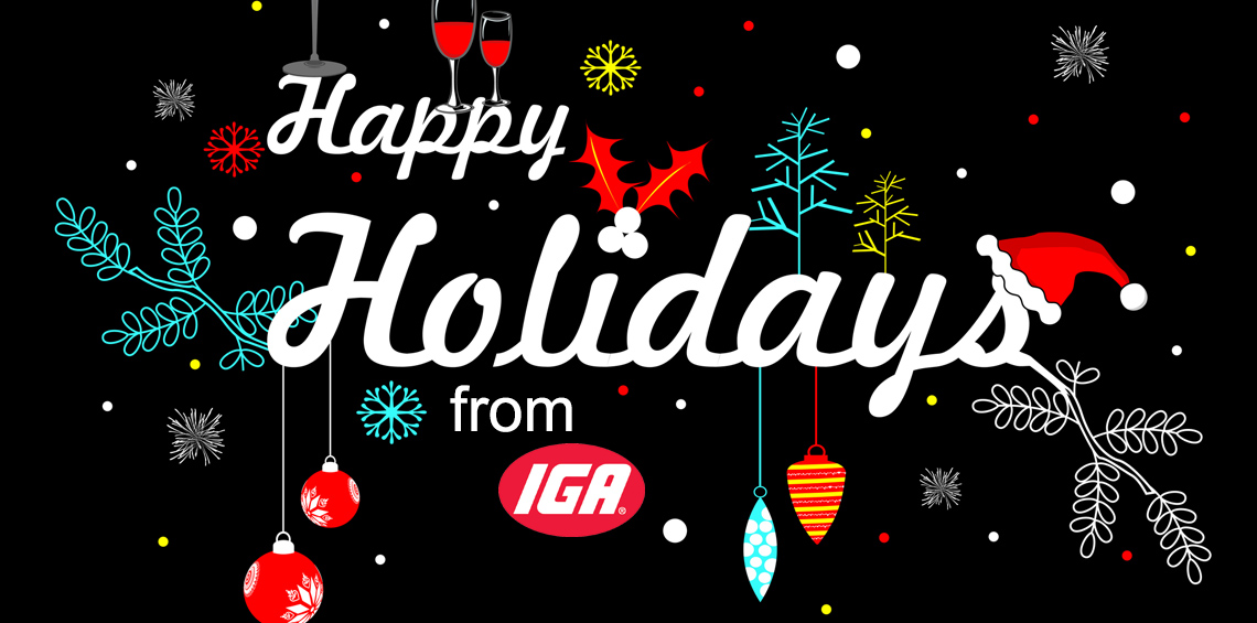 Happy Holidays from IGA