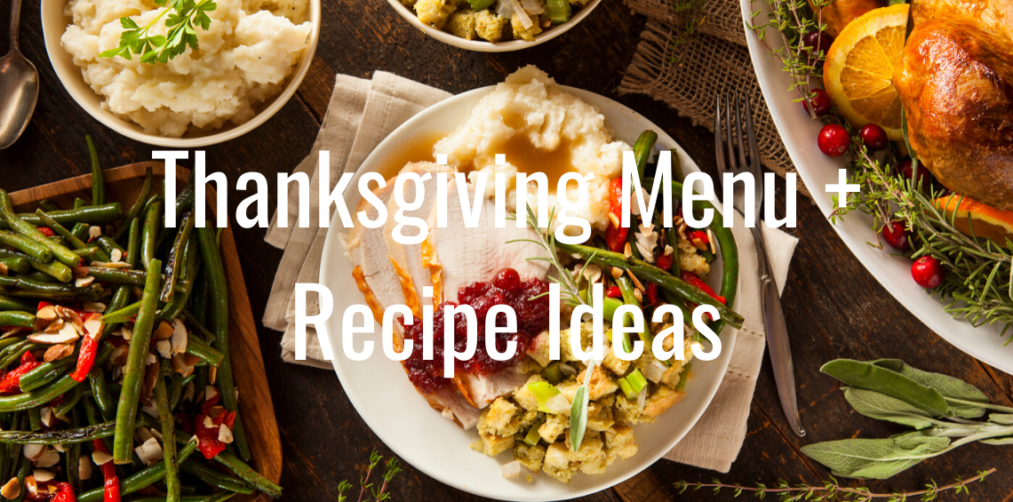 Thanksgiving Menue Ideas