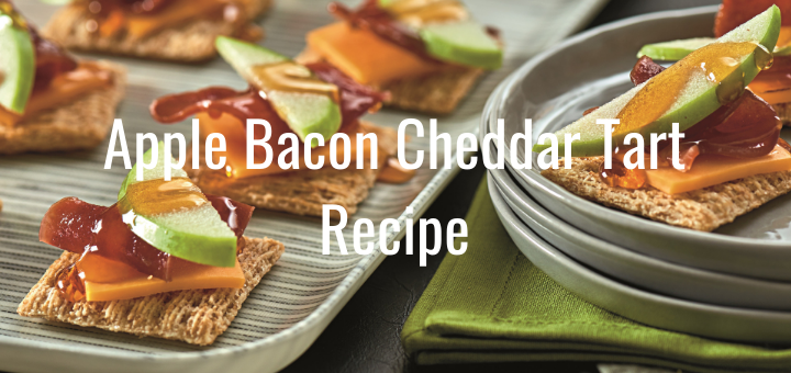 Apple Bacon Cheddar Tart Recipe