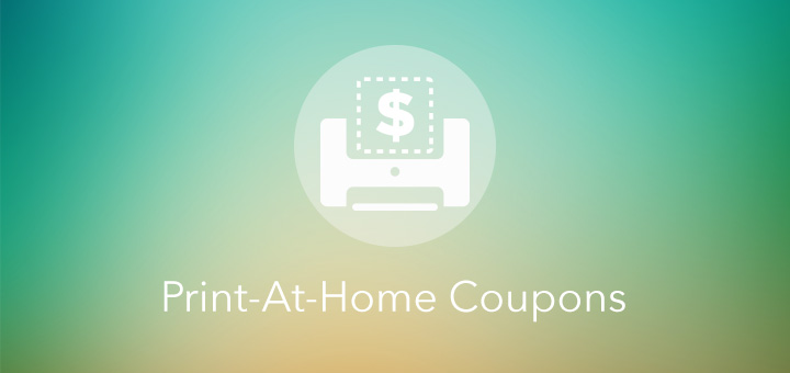 Print-At-Home Coupons
