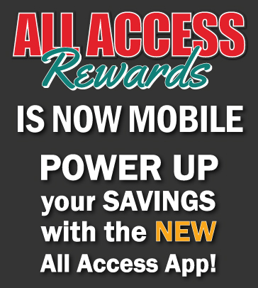 All Access Rewards App