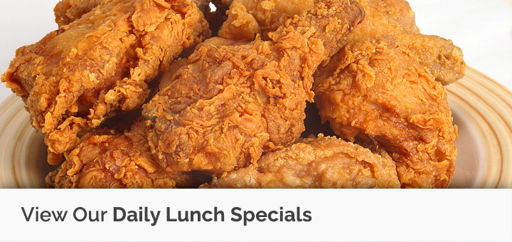 View Our Daily Lunch Specials and Menu