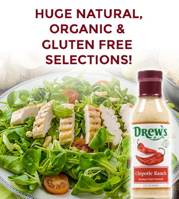 View Our Huge Natural Organic and Gluten Free Selection