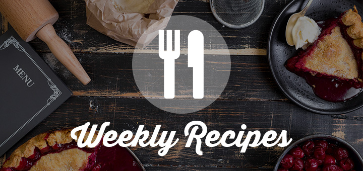 View our weekly recipes from Valley Supermarket IGA in Hot Springs, Virginia