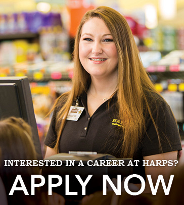 Apply now at Harps