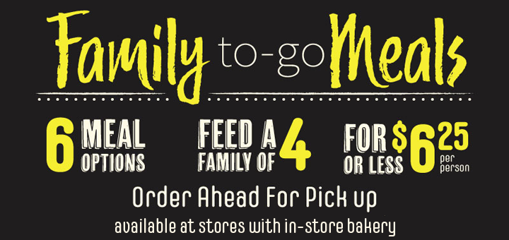 FAMILY MEAL DEALS