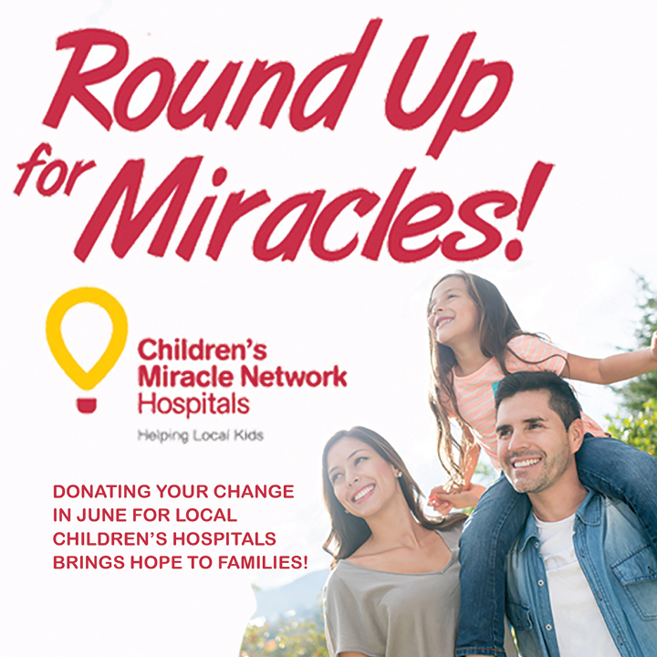 ROUND UP FOR MIRACLES