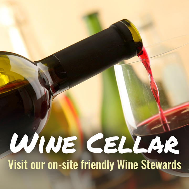 Wine Cellar - Speak To Our Friendly Wine Stewards In All Our Stores