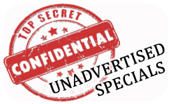 Unadvertised Specials