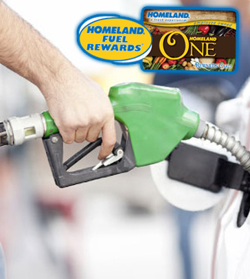 Fuel Rewards with Homeland One Card