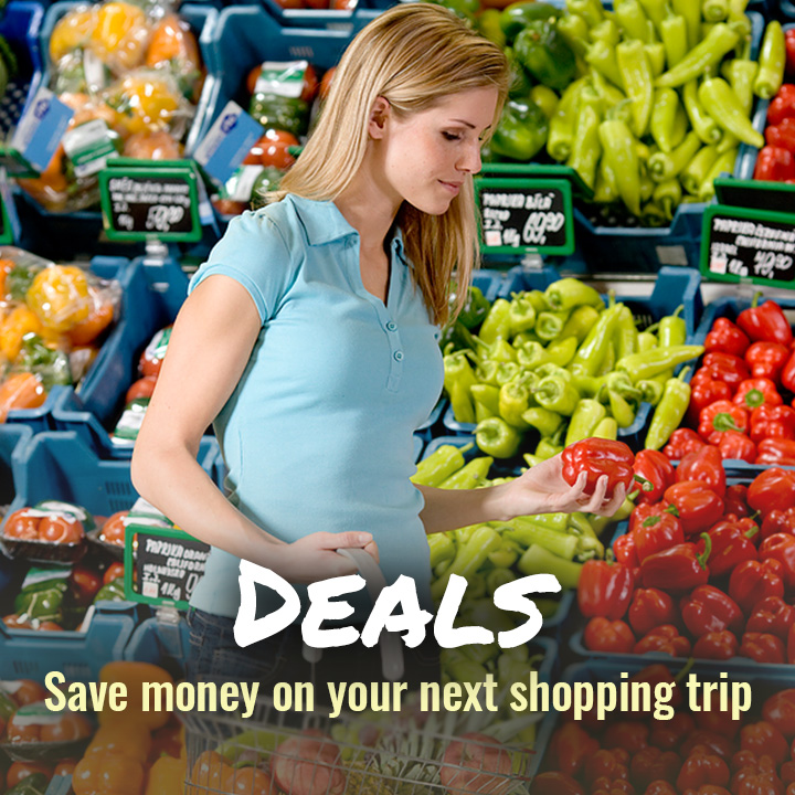 Deals - Save some money on your next shopping trip
