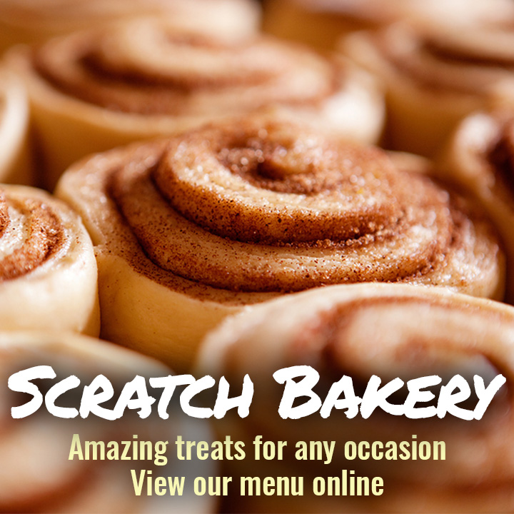In-Store Scratch Bakery - View Our Menu Online