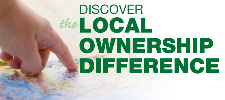 We are Local in your Community