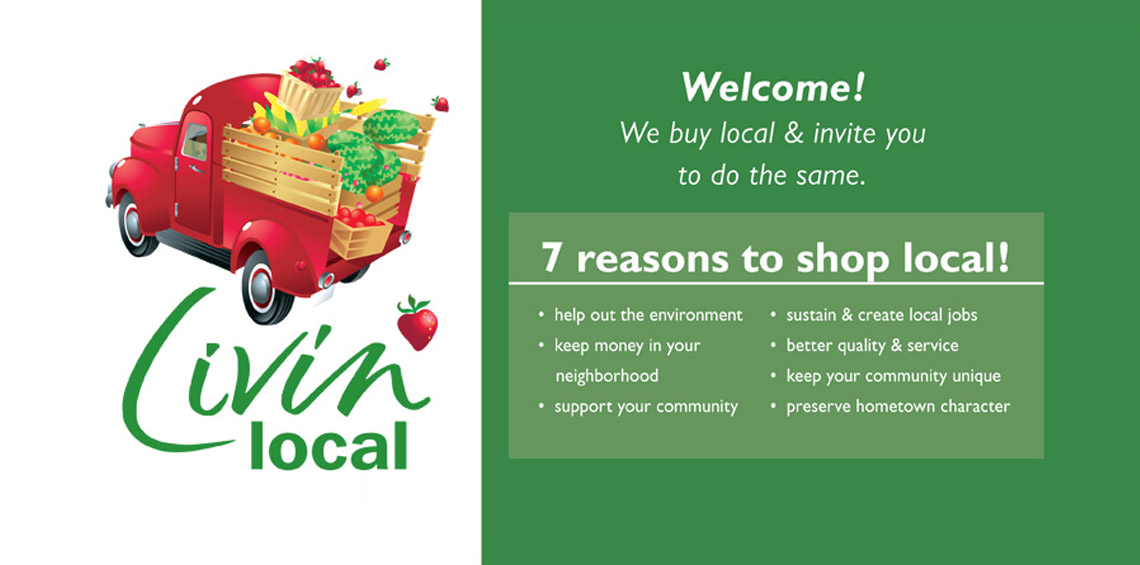 Livin' Local - Reasons to buy local