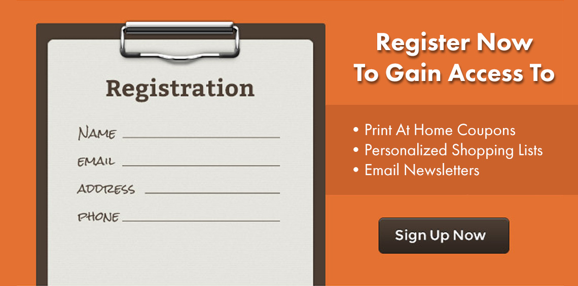 Link to Email Newsletter Registration