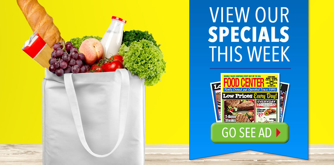 Food Center Weekly Ads
