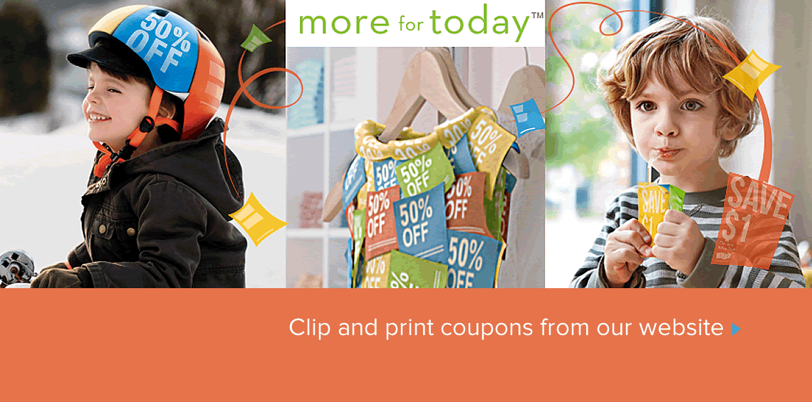 Print coupons from our website