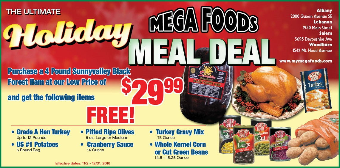 Holiday Meal Deal 206