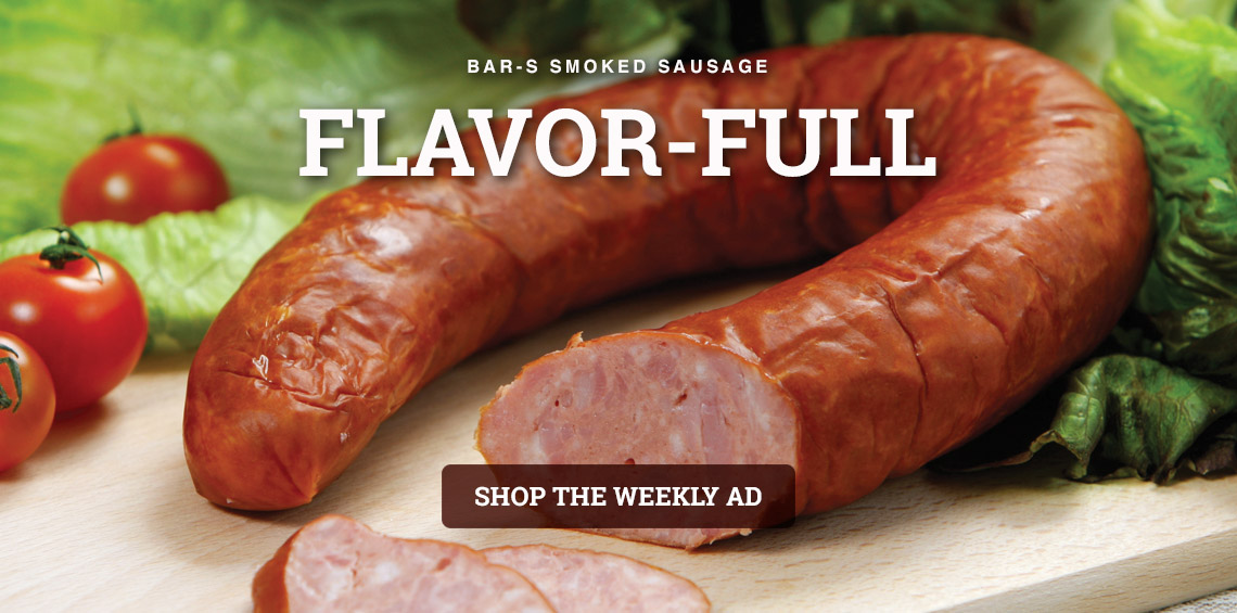 BAR S SMOKED SAUSAGE