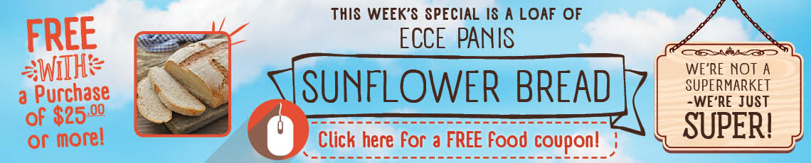 coupon for Ecce Panis Bread