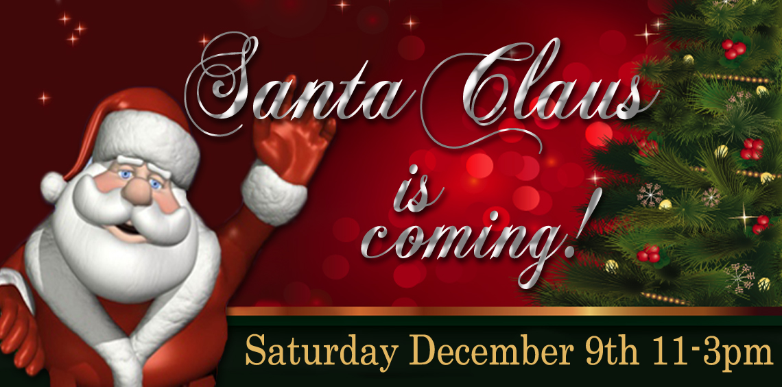 Santa Photos At IGA December 9th!