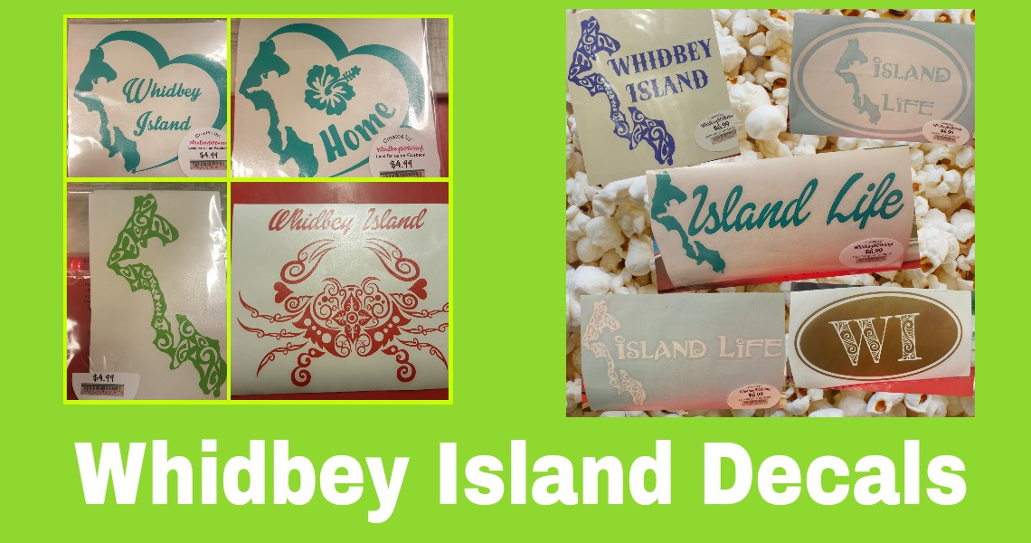 Whidbey Island Decals