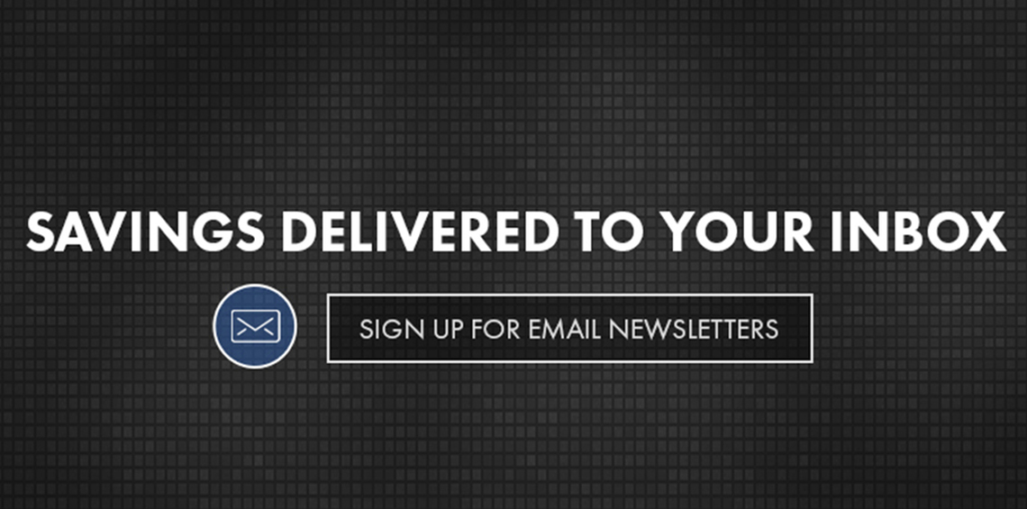 Weekly Email Registration