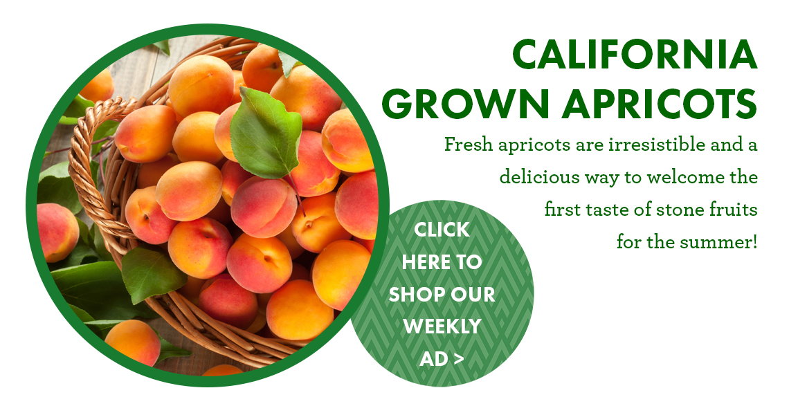 California Grown Apricots