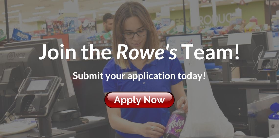Apply to Work at Rowe's