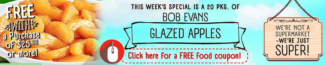 Free Coupon Bob Evans Glazed Apples