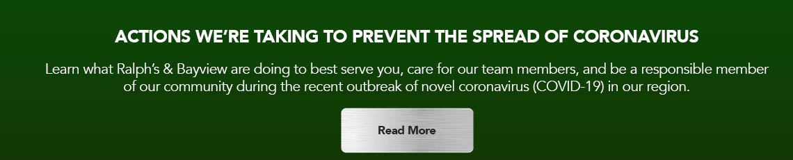 Click here to learn more about the actions we're taking to prevent the spread of coronavirus