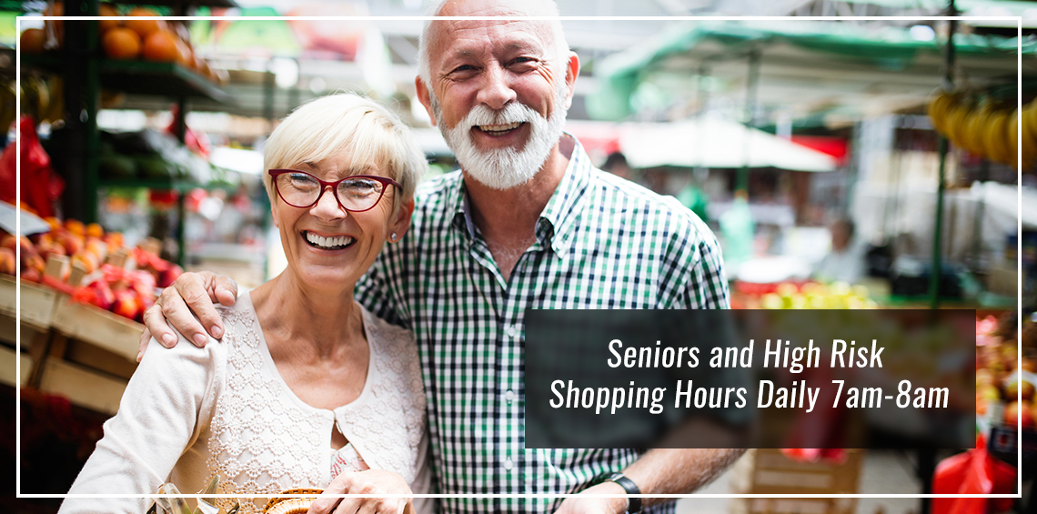 Senior and High Risk Shopping Hours