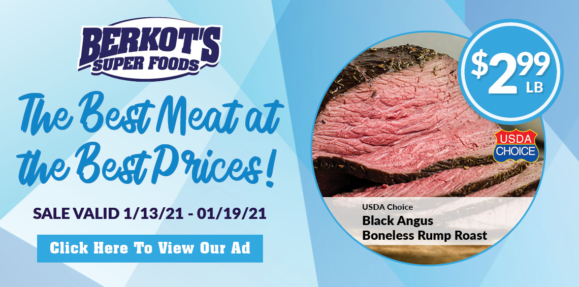 Berkot's super foods Top quality meat