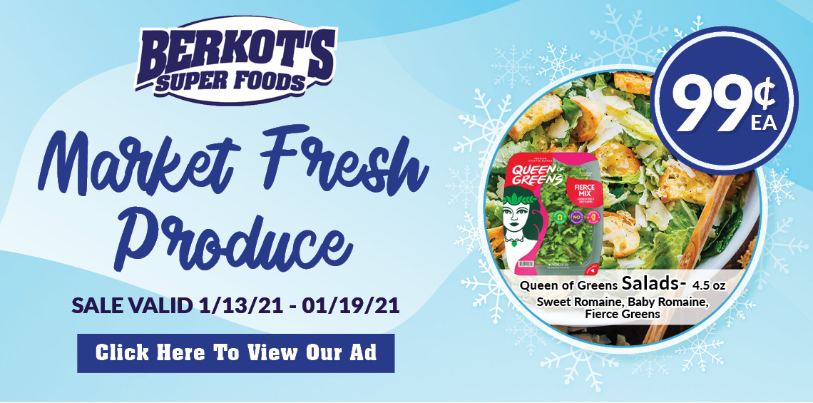 Berkots super foods market fresh produce